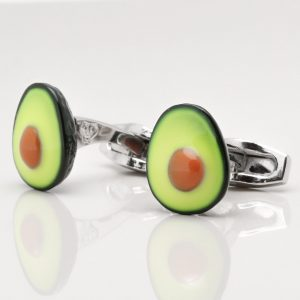 Avocado Cufflinks