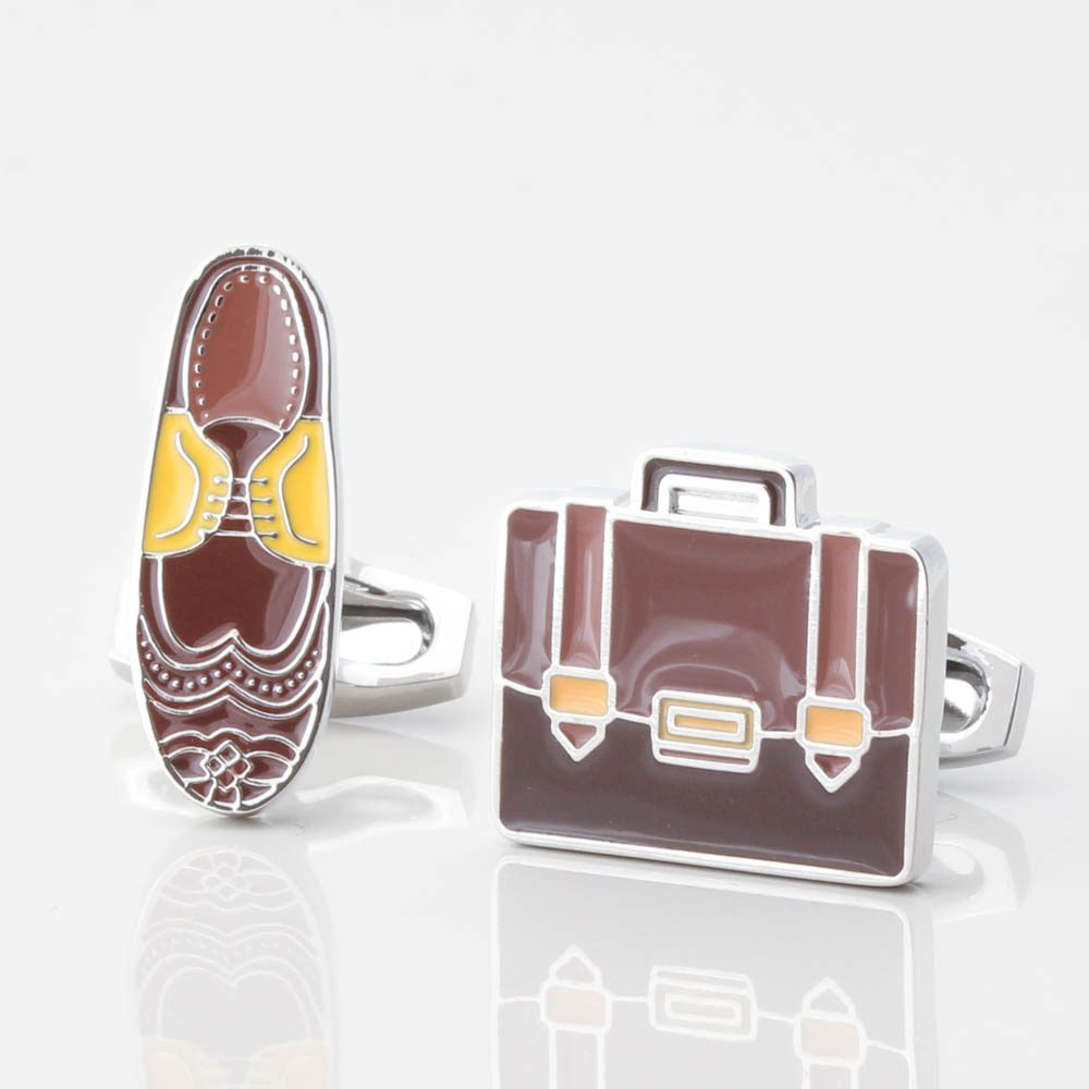 Brogue & Briefcase Cufflinks