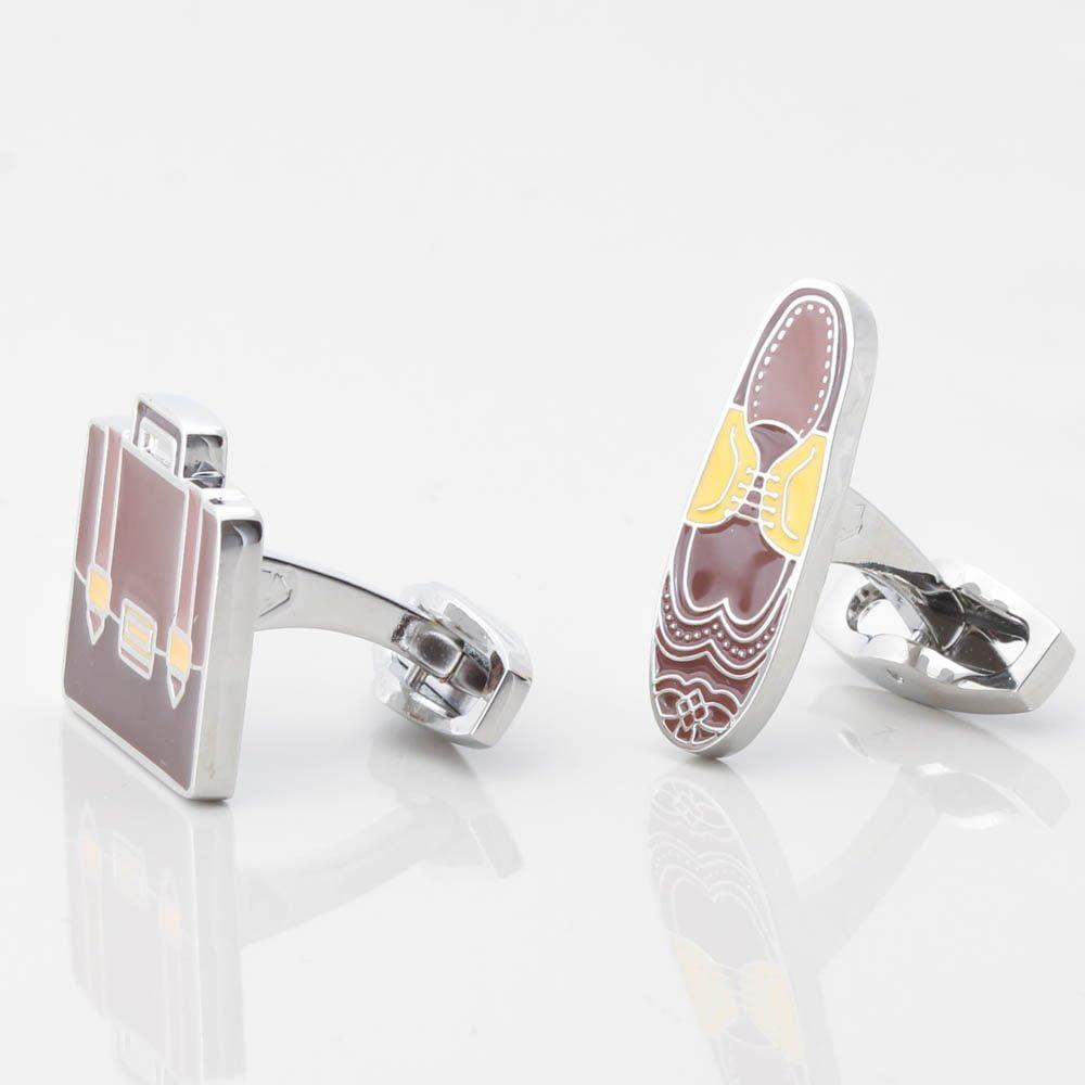 Brogue & Briefcase Cufflinks Gallery
