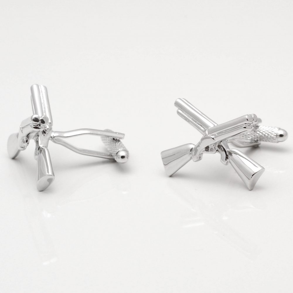 Double Barrel Shotgun Cufflinks Gallery