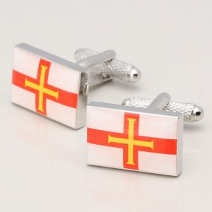 GUERNSEY FLAG CUFFLINKS