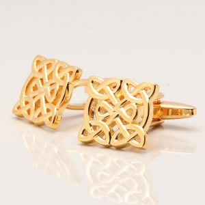 Gold Celtic Knot Cufflinks
