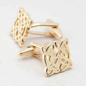 Gold Celtic Knot Cufflinks