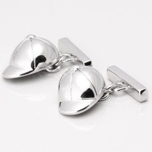 Horse Racing Jockey Hat Cufflinks
