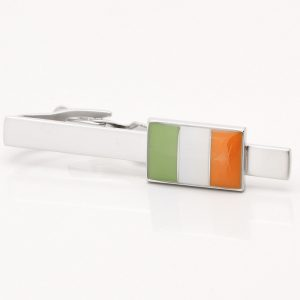 Irish Flag Tie Bar