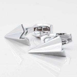 Paper Aeroplane Cufflinks