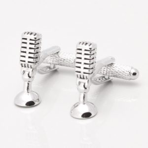 RETRO MICROPHONE CUFFLINKS
