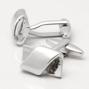 Rectangular Twist Cufflinks