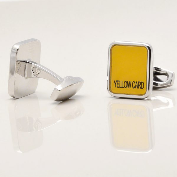 Red and Yellow Card Cufflinks Gallery