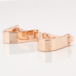 Rose Gold Wrap Around Cufflinks