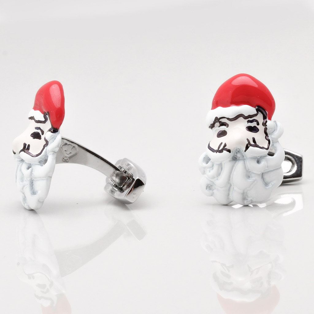 Santa Cufflinks