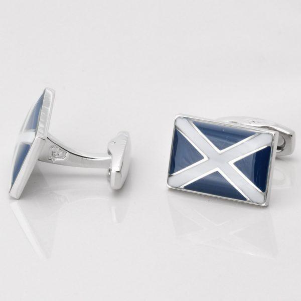 Scottish Flag Cufflinks Gallery