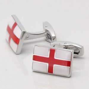 St George's Flag Cufflinks