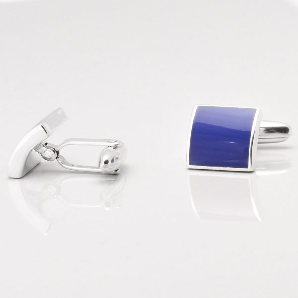 Sterling Silver Lapis Cufflinks Gallery
