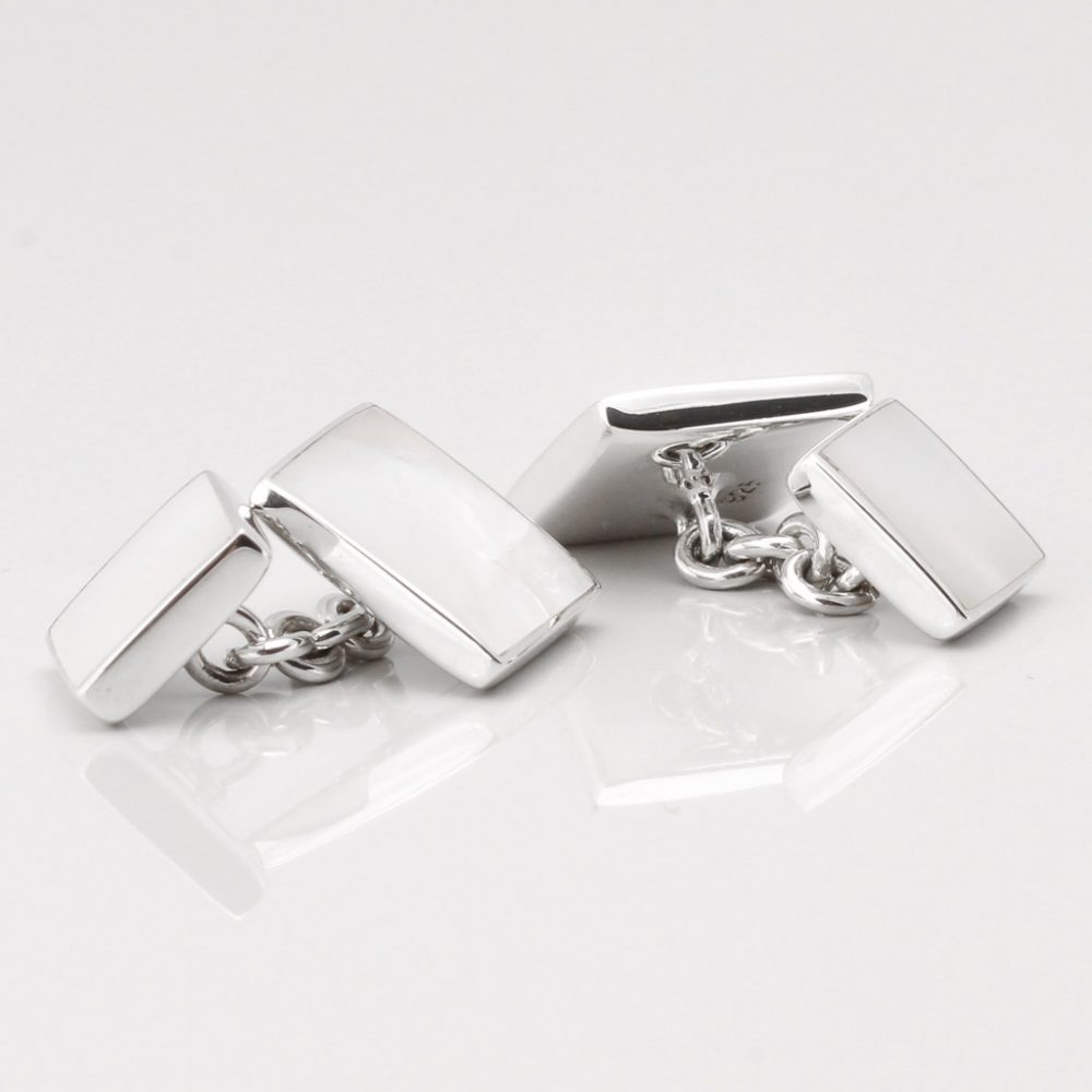 Sterling Silver Mother of Pearl Cufflinks Gallery