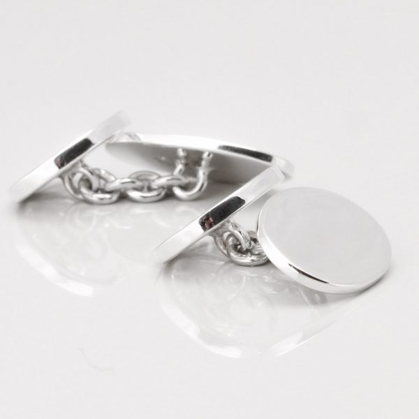 Sterling Silver Thistle Cufflinks Gallery