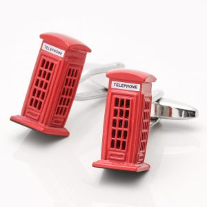 Telephone Box Cufflinks