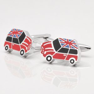 Union Jack Mini Cufflinks