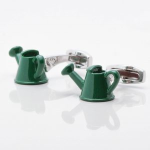 Watering Can Cufflinks