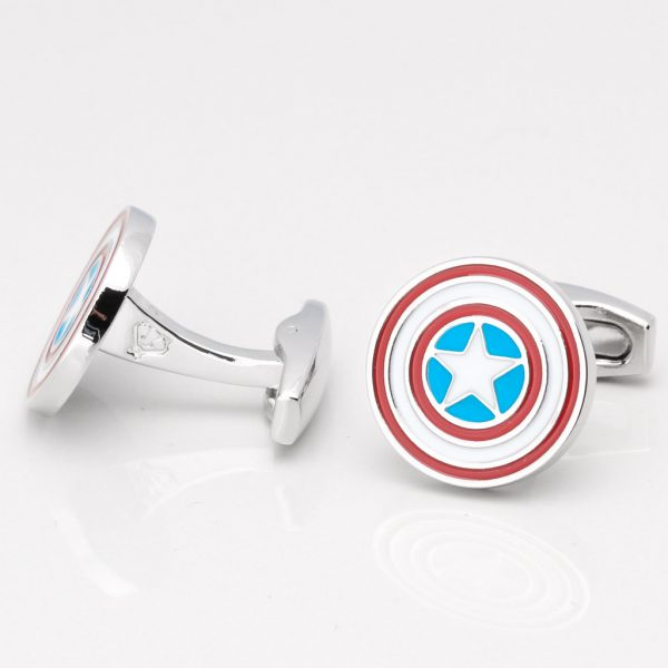 CAPTAIN AMERICA CUFFLINKS GALLERY