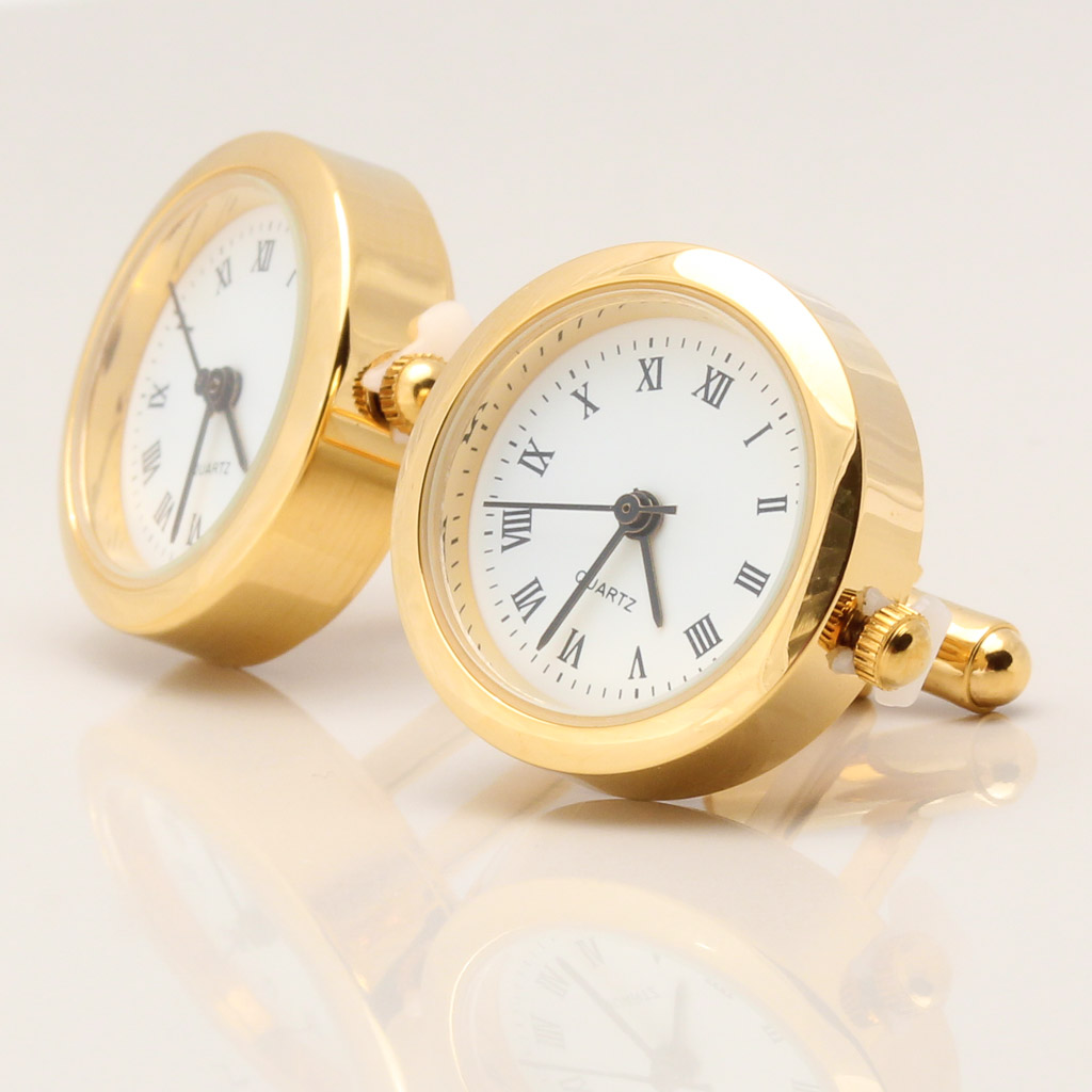 Clock Cufflinks