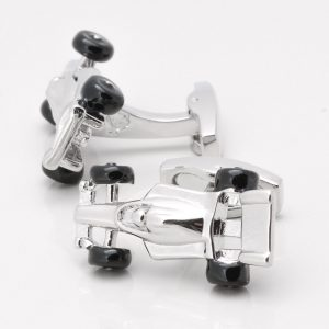 MOTOR RACING CAR CUFFLINKS