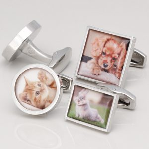 PERSONALISED ANIMAL CUFFLINKS