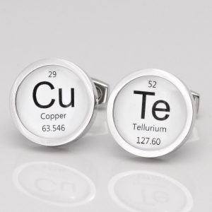 Personalised Chemical Element Cufflinks
