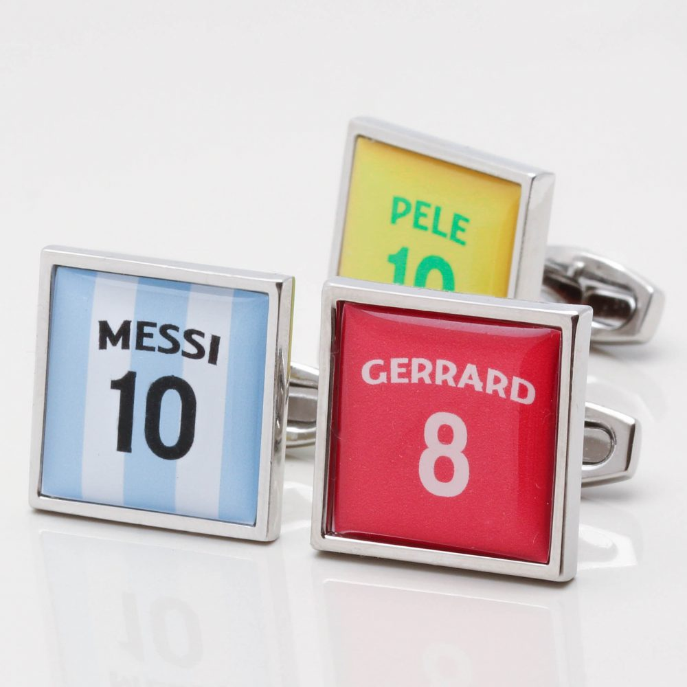 Personalised Football Shirt Cufflinks