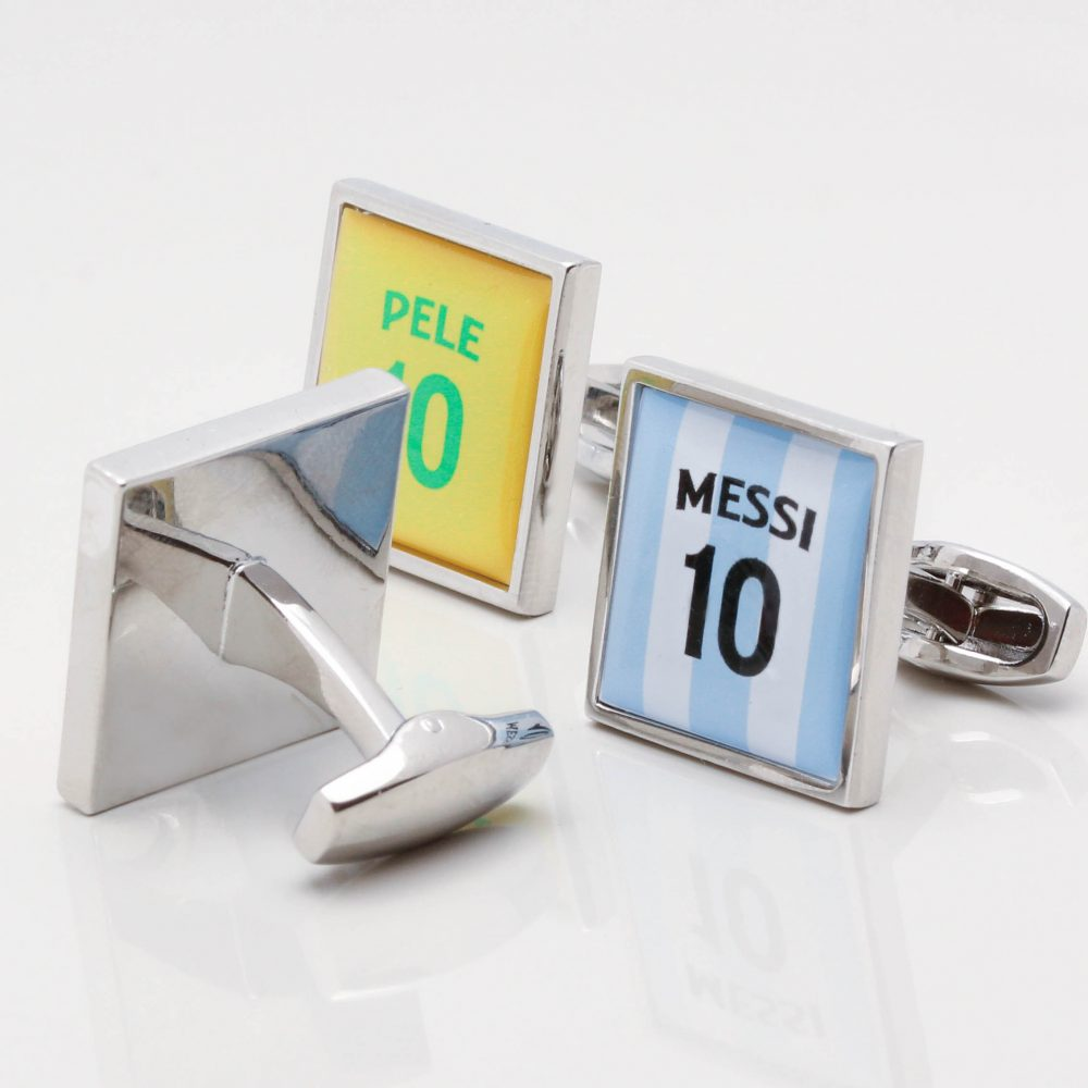 Personalised Football Shirt Cufflinks Gallery