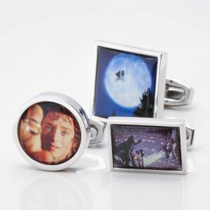 Personalised Movie Cufflinks
