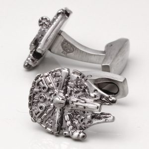 STAR WARS MILLENNIUM FALCON CUFFLINKS