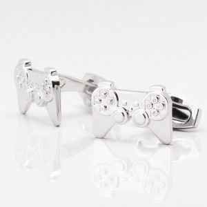 Silver Playstation Cufflinks