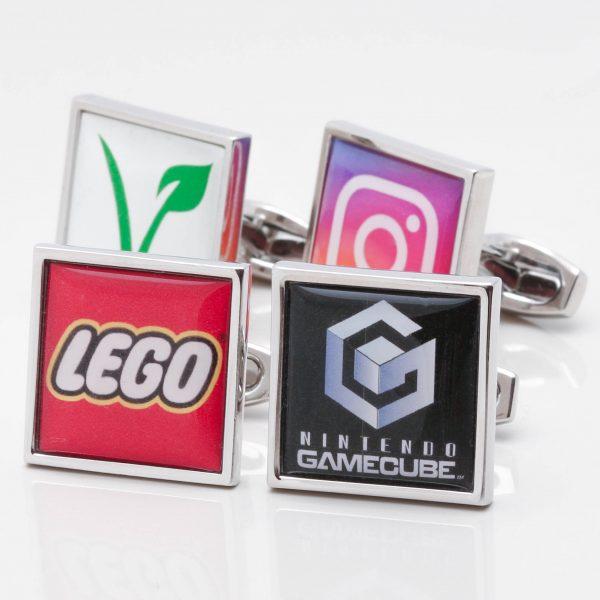 Square Logo Cufflinks