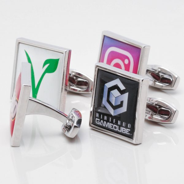 Square Logo Cufflinks Gallery