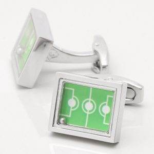 Football Pitch Cufflinks