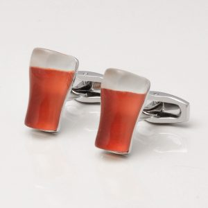 Pint of Bitter Cufflinks