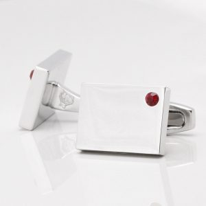 Birthstone Garnet Cufflinks