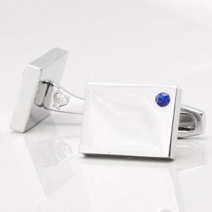 Birthstone Sapphire Cufflinks