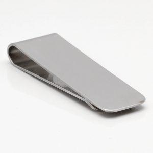 Brushed Alloy Money Clip