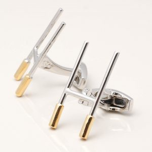 Rugby Goal Post Cufflinks