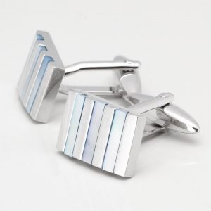 Blue Mother of Pearl Cufflinks