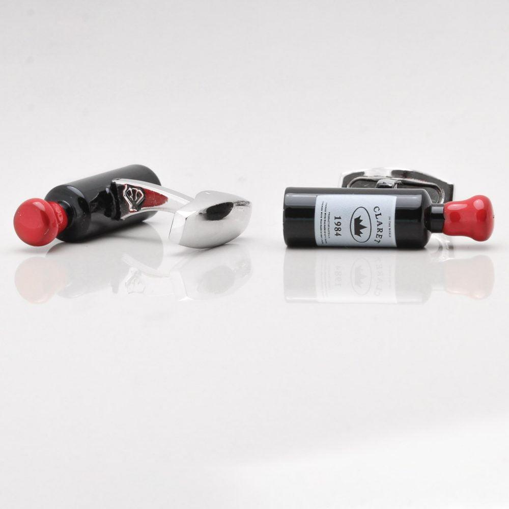Red Wine Bottle Cufflinks Gallery