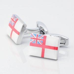 White Ensign Flag Cufflinks