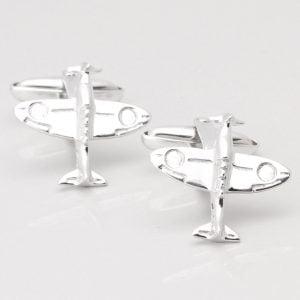 Sterling Silver Spitfire Cufflinks
