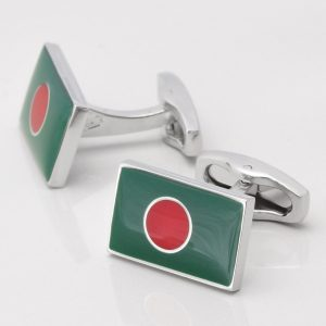 Bangladesh Flag Cufflinks