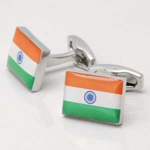 INDIAN FLAG CUFFLINKS