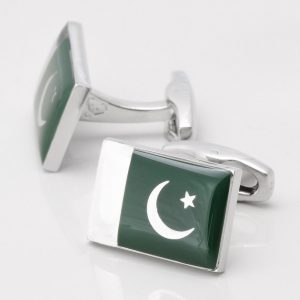 Pakistan Flag Cufflinks
