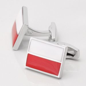 Polish Flag Cufflinks