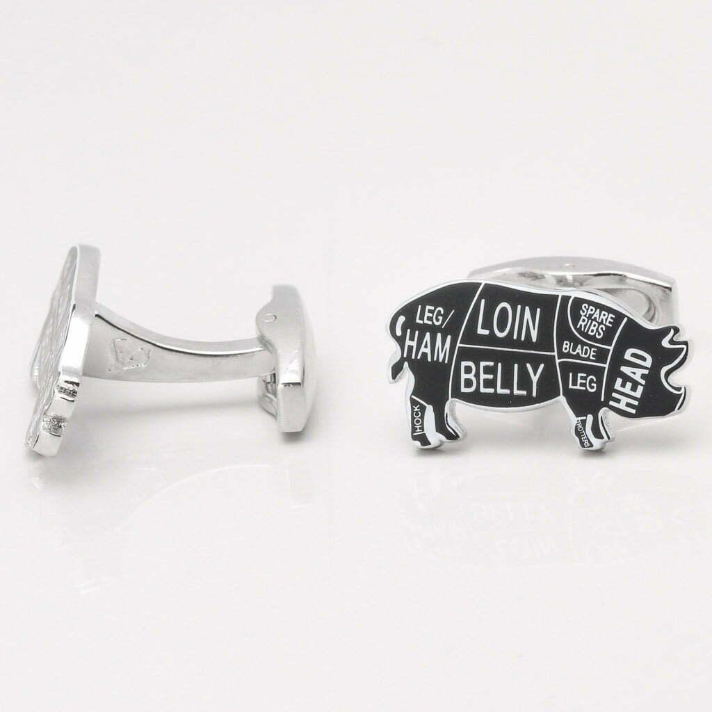 Pig Cufflinks